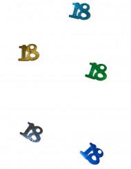 Confetis de mesa multicolores número 18