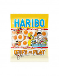 Bolsa golsinas Haribo huevos fritos