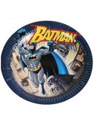 6 Platos cartón Batman™ 23 cm