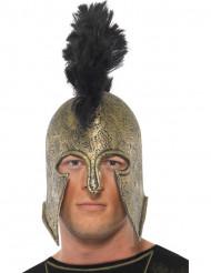 Casco romano pelo sintético adulto