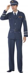 Disfraz comandante de aire hombre