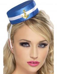 Mini sombrero de marinero mujer