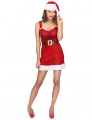 Disfraz Mama Noel sexy con cinturón