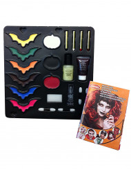 Paleta de maquillaje y accesorios Halloween