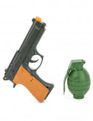 Kit revólver y granada