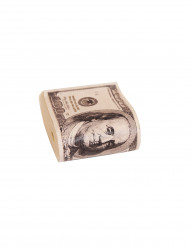 Fajo de billetes falso