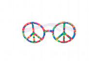 Gafas multicolores hippie