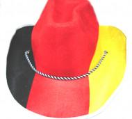 Sombrero cowboy hincha Alemania