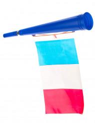 Trompeta fútbol con bandera de Francia