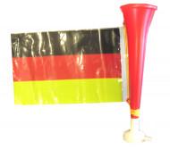 Trompeta futbol con bandera de Alemania