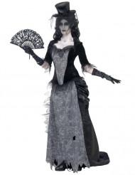 Disfraz de fantasma años 20 mujer Halloween