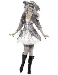 Disfraz pirata fantasma mujer Halloween