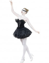Vestido negro bailarina mujer