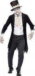 Disfraz zombi caballero hombre Halloween
