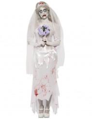Disfraz de zombi novia mujer Halloween