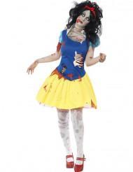 Disfraz zombi princesa de cuento de hadas mujer Halloween