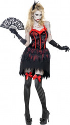 Disfraz de zombie burlesque sexy Halloween