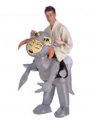 Disfraz de Tauntaun™inflable adulto