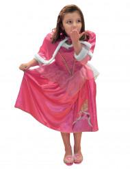 Disfraz princesa del invierno Aurora™ con capa niña