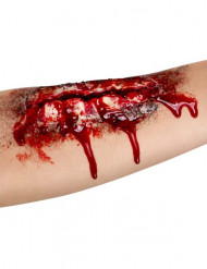 Herida falsa abierta antebrazo