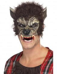 Semi máscara de hombre lobo adulto