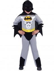 Disfraz Batman™ clásico plateado niño