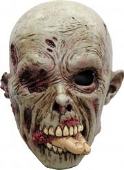 Máscara zombie devorador adulto Halloween