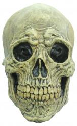 Máscara de esqueleto maléfico adulto Halloween