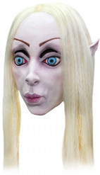 Mácara rubia elfo mujer