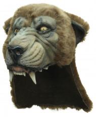 Máscara de puma adulto de lujo