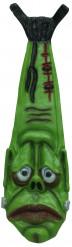 Corbata verde Frankenstein