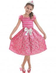 Disfraz Barbie™ princesa rosa niña