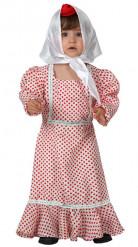 Disfraz de madrileña para bebé
