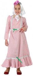Disfraz de madrileña roja niña