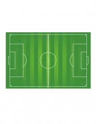 Campo de fútbol oblea 20 x 30 cm