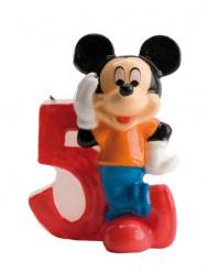 Vela número 5 Mickey Mouse™