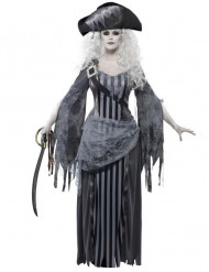 Disfraz fantasma pirata mujer Halloween