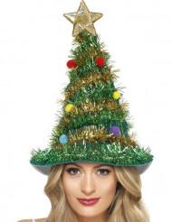 Gorro árbol de Navidad adulto