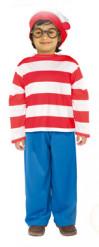 Disfraz de ¿Dónde está Wally?™ niño