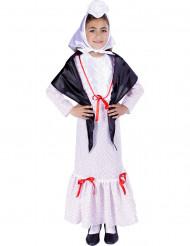 Disfraz de madrileña chulapa niña