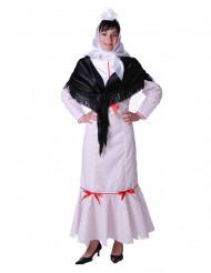 Disfraz de madrileña mujer