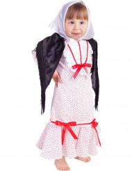 Disfraz de chulapa niña