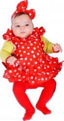 Disfraz de flamenca para bebé