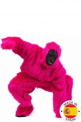 Disfraz super gorila rosa adulto