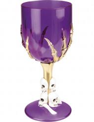 Copa violeta Halloween