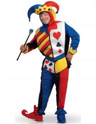 Disfraz joker juego de cartas Adulto