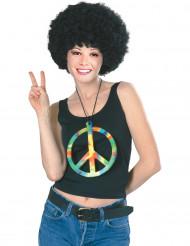 Collar hippie arcoíris gigante