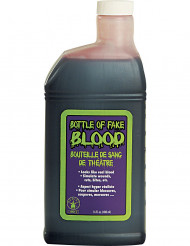 Maquillaje botella de sangre falsa 480 ml