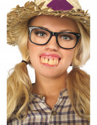 Dentadura dientes grandes