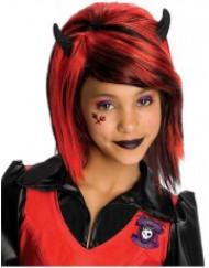 Peluca gótica niña